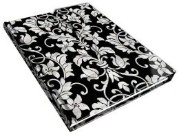 Prestige Journal - Floral Inlay - Medium - Lined Both Sides