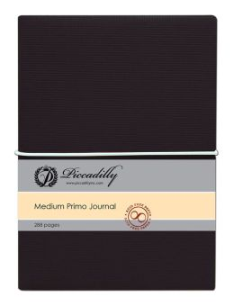 Primo Journal - Black - Medium - Lined both Sides
