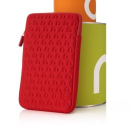Embossed Neoprene in Red for NOOK Color and NOOK Tablet