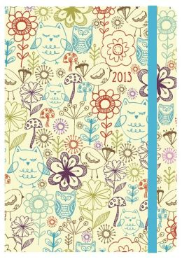 2013 Weekly Planner 5x7 Nature Bound Engagement Calendar