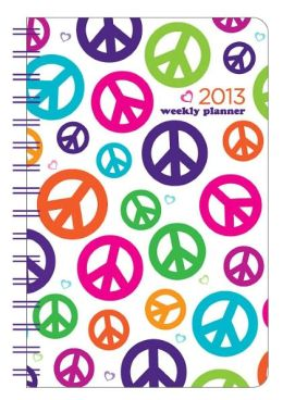 2013 Weekly 5x8 Peace Pearl Wiro Engagement Calendar