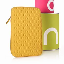 Embossed Neoprene in Yellow