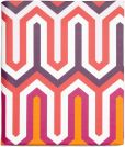 Product Image. Title: Jonathan Adler Chevron Cover in Pink