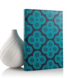 Jonathan Adler Mandala Cover in Navy and Turquoise