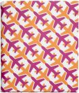 Product Image. Title: Jonathan Adler Jet Set Cover in Pink and Orange
