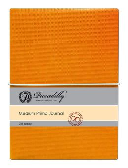 Primo Journal - Orange - Medium - Lined both Sides
