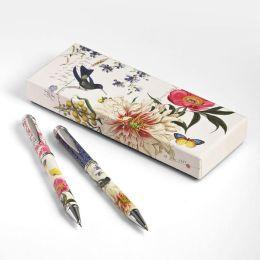 Scrapbook Bird Pen & Mechanical Pencil Set in Gift Box
