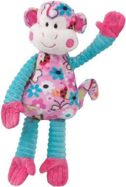 Justine Pink Butterfly Monkey Stuffed Animal