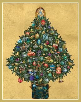 DECORATED CHRISTMAS TREE CHRISTMAS BOXED CARD