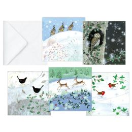 WINTER WONDERLAND FOLIO CHRISTMAS BOXED CARD