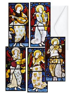 MUSICAL ANGELS FOLIO CHRISTMAS BOXED CARD