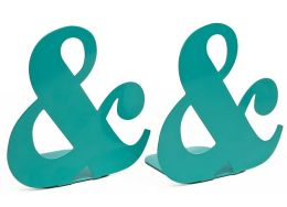 Jonathan Adler Ampersand Metal Bookends (6.25x6)