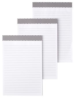 Refill Writing Pads for iPad Folio Case Set of 3 - 6''x 9''