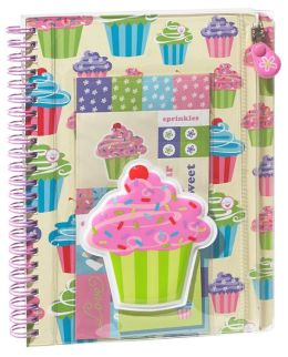 Sprinkle Treats Puffy Lined Wiro Journal 6