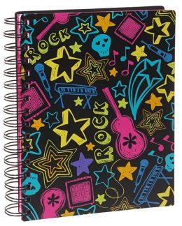 Neon Rock Wiro Notebook 6