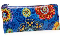 Lacy Medallions Coated Cotton Pencil Pouch 4