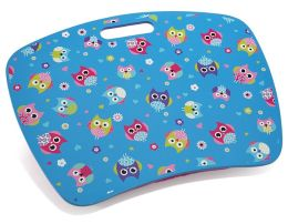 Hooty Owl Lap Desk with Zip Pocket 15