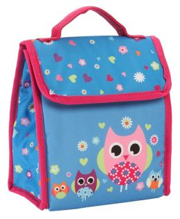 Hooty Owl Fold Over Lunch Tote 9