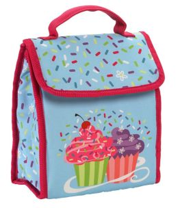 Cupcake Fold Over Lunch Tote 9