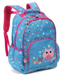 Hooty Owls Nylon Backpack 16'' x 12'' x 7''