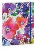 Product Image. Title: Graphic Garden Lined Flexi Bound Journal 7'' x 9''