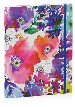 Graphic Garden Lined Flexi Bound Journal 7'' x 9''