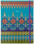 Book Cover Image. Title: 2015 Weekly Planner 7x9 Moroccan Borders Flexi Engagement Calendar, Author: Punctuate