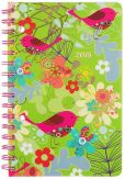 Book Cover Image. Title: 2015 Weekly 5x8 Chirpy Bird Wiro Engagement Calendar, Author: Punctuate