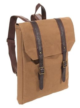Acorn Canvas Slim Backpack 17