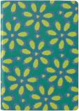 Product Image. Title: Tri-Colored Daisy Cover in Emerald/Vine HD