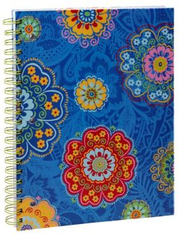 Lacey Medallion 3-Subject Lined Notebook 8.5