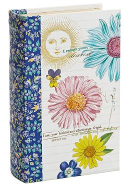 Printemps Fleur Fabric Book Box 5'' x 8.25'' x 2.6''