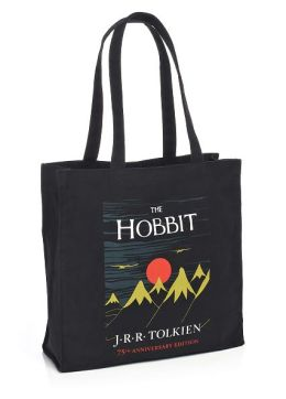 The Hobbit 75th Anniversary Black Canvas Tote (14