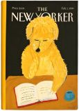 Product Image. Title: New Yorker Dog Reading Cover HD