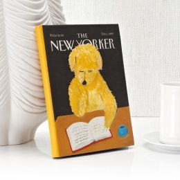 New Yorker Dog Reading Cover HD