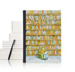 New Yorker Book Shelves Cover HD+