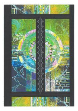 Organic Abstract Medium Banded Journal
