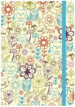 2014 Weekly Planner 5x7 Nature Bound Engagement Calendar