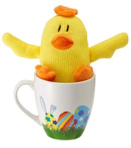 Knitster Chick Plush & Mug