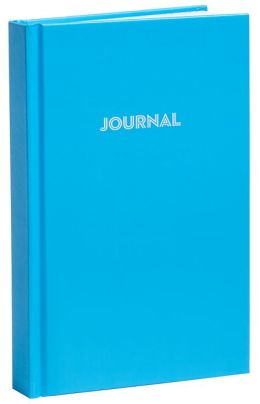 Blue Basic Bound Lined Journal (5''x8'')