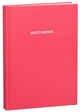 Pink Basic Bound Sketchbook (8.25''x11.25'')