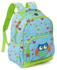 Product Image. Title: Critter Owl with Trellis Large Backpack 17'' x 12'' x 7''