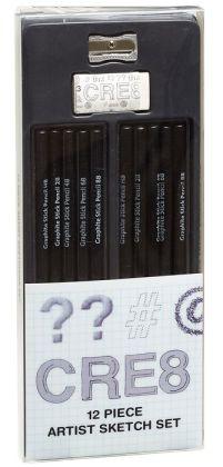 LOL'd Drawing Pencils Set of 12