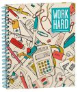 Product Image. Title: Work Play Spiral Sketchbook 8.5'' x 11''