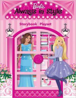 Barbie Always in Style: Storybook Playset