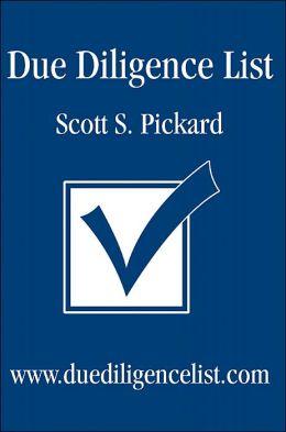 Due Diligence List: www.duediligencelist.com