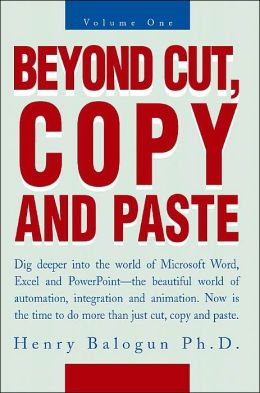 Beyond Cut, Copy And Paste