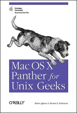 Mac OSX Panther for Unix Geeks