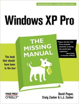 Windows XP Pro: The Missing Manual: The Missing Manual