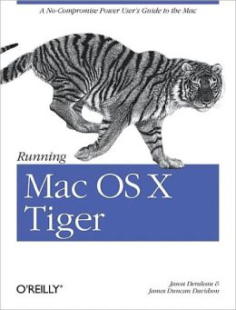 Running Mac OS X Tiger